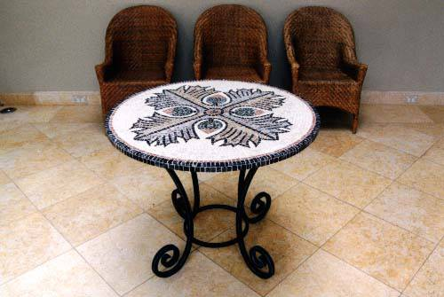 Mosaic table for Table th nth